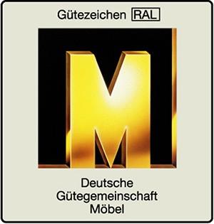 Gütezeichen RAL Deutsche Gütegemeinschaft Möbel